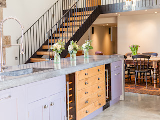 Rustic industrial style kitchen Love Wood Kitchens Rustic style kitchen