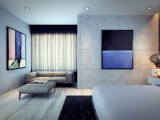 Im Designer studio DormitoriosMesitas de noche