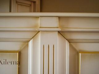 Boiserie in legno bianca Xilema Pro Pareti & PavimentiRivestimenti pareti & Pavimenti Legno massello Bianco