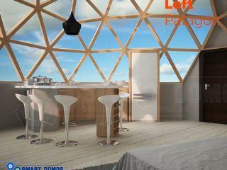 smart domos Modern style bedroom