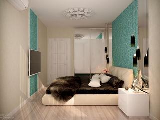 Студия интерьерного дизайна happy.design Minimalist bedroom