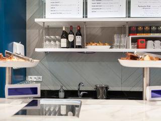 Simone Lemon Concrete LCDA Cocinas de estilo moderno Hormigón Gris