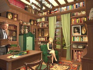 Biblioteca privata - Home office Planet G Studio in stile classico Legno massello