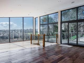 Mallards View, Devon, UK Trewin Design Architects Salon moderne