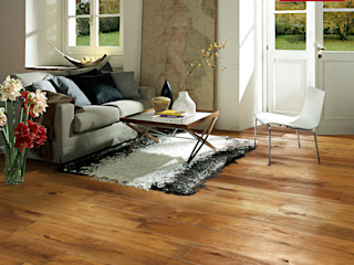 Kährs Parkett Deutschland Country style living room Wood Brown