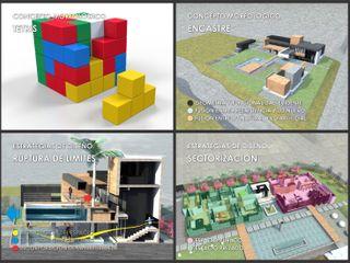 Tetrisfalls GGAL Estudio de Arquitectura
