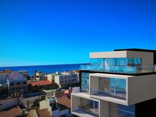 Edificio The Block GGAL Estudio de Arquitectura 現代房屋設計點子、靈感 & 圖片