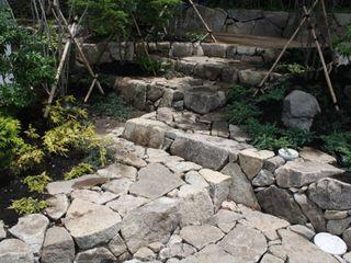 池田A邸 庭のクニフジ 庭院