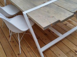 Elena Valenti Studio Design Dining roomTables Kayu White