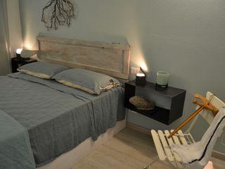 Elena Valenti Studio Design BedroomBedside tables Besi/Baja Black