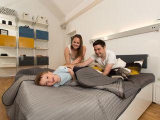 K-MÄLEON Haus GmbH Modern Bedroom White