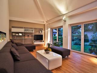 K-MÄLEON Haus GmbH Modern Living Room White