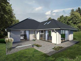 K-MÄLEON Haus GmbH Modern Houses White