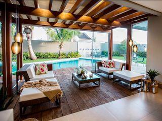 Arquitetura Ao Cubo LTDA Balcones y terrazas tropicales