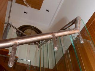 Mahalakshmi TRINITY DESIGN STUDIO Modern Corridor, Hallway and Staircase