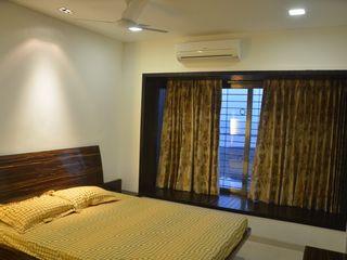 Mahalakshmi TRINITY DESIGN STUDIO Modern Bedroom