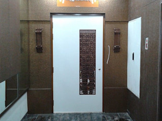 Mr Kamdar 20th Floor TRINITY DESIGN STUDIO Modern Corridor, Hallway and Staircase