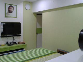 Mr Kamdar 20th Floor TRINITY DESIGN STUDIO Modern Bedroom