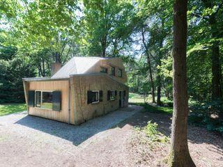 Bloot Architecture Rumah Modern Kayu Brown