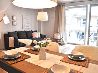 Cosy Home - Home Staging einer Mietwohnung Karin Armbrust - Home Staging Moderne Esszimmer
