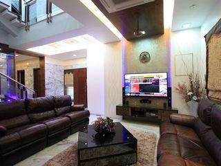Ansari Architects غرفة المعيشة