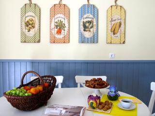 Rafaela Fraga Brás Design de Interiores & Homestyling Cozinhas campestres Amarelo