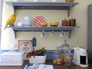 Rafaela Fraga Brás Design de Interiores & Homestyling Armários e bancadas de cozinha Madeira Cinza