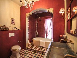 Crafted Tiles Mediterranean style bathroom