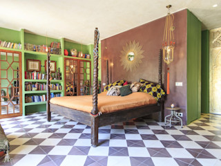 Crafted Tiles Mediterranean style bedroom