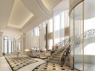 Interior Design & Architecture by IONS DESIGN Dubai,UAE IONS DESIGN Colonial corridor, hallway & stairs