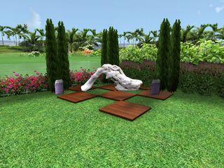 AYTÜL TEMİZ LANDSCAPE DESIGN Modern garden Wood