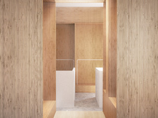 Belle Ville Atelier d'Architecture Commercial Spaces Wood Wood effect