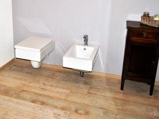 ArcKid Rustic style bathroom Grey