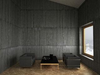 Belle Ville Atelier d'Architecture Walls Concrete Grey