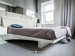 Arte Dizain. Agnieszka Hajdas-Obajtek Modern Bedroom
