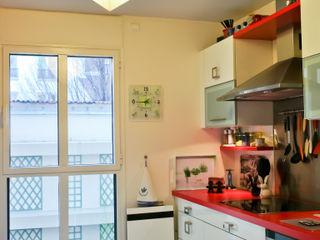 Jeux de Lumière Eclectic style kitchen