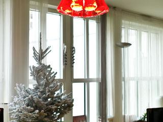 Jeux de Lumière Eclectic style dining room