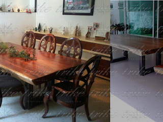 Trike Interiorismo Dining roomAccessories & decoration Solid Wood Wood effect
