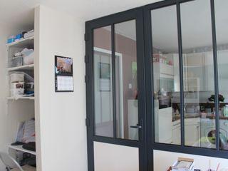 Agence ADI-HOME Dapur Gaya Industrial Aluminium/Seng Black