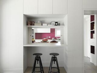 Interni Casa P+F Margherita Mattiussi architetto Sala da pranzo moderna