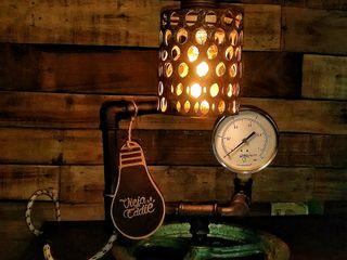 Lampara Industrial Vintage Polea Reclaimed Lamparas Vintage Vieja Eddie LivingsIluminación Hierro/Acero