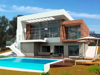DYOV STUDIO Arquitectura, Concepto Passivhaus Mediterraneo 653 77 38 06 房子 木頭 White