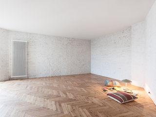 Gisbert Pöppler Architektur Interieur 客廳 White
