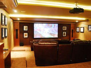 MBDesign Arquitetura & Interiores Modern media room