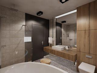 Ale design Grzegorz Grzywacz Minimalist bathroom Grey