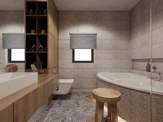 Ale design Grzegorz Grzywacz Eclectic style bathroom