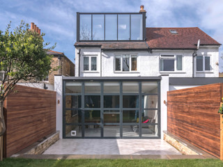 East Dulwich 1 Proctor & Co. Architecture Ltd Modern houses Glass Black