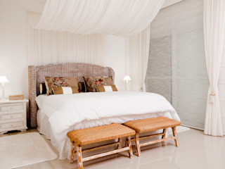 Priscila Koch Arquitetura + Interiores Rustic style bedroom