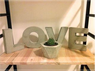 BODOQUE - Diseño en Concreto Living roomAccessories & decoration Grey