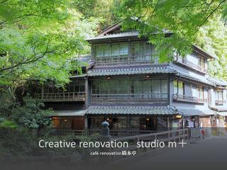 studio m+ by masato fujii Case in stile asiatico